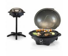 Tristar Barbecue électrique de table avec support BQ-2816 Noir 2200 W 46 x 35 cm