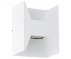 EGLO Lampe murale LED d'extérieur Morino 5 W Blanc