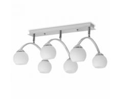 vidaXL Plafonnier pour 6 ampoules G9 240 W