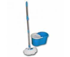 Lifetime Clean Balai Serpillère et Seau Bleu 360°