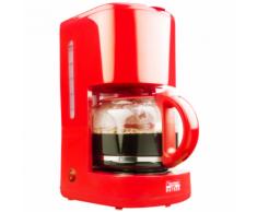 "Bestron Cafetière ""Hot Red"" 1080 W ACM300HR"