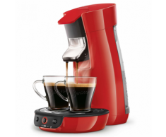 Philips Cafetière Senseo Viva Cafe 1450 W 0,9 L Rouge HD7829/80