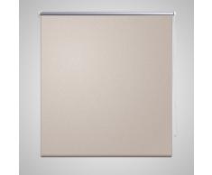 vidaXL Store enrouleur occultant 80 x 175 cm beige