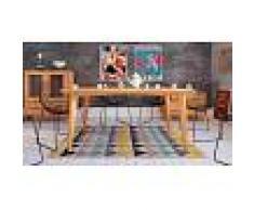 Table design salle à manger en bois massif - Stockholm