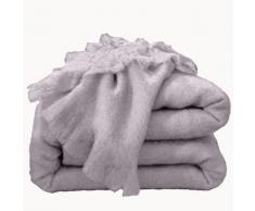 Couverture laine mohair Angora