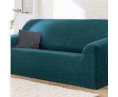 Housse unie extensible fauteuil canapé