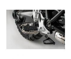 SW-Motech Kit de repose-pieds ION - BMW R nineT Scrambler (16-), R nineT GS (16-)., noir-argent