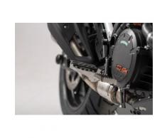 SW-Motech Kit de repose-pieds ION - KTM modèles., noir-argent