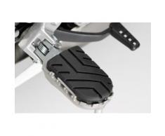 SW-Motech Kit de repose-pieds ION - Honda / BMW / Triumph - modèles., noir-argent