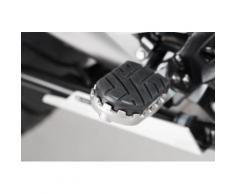 SW-Motech Kit de repose-pieds ION - BMW R1200GS LC/Adv (13-), R1250GS/Adv (18-)., noir-argent