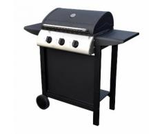 Barbecue au gaz HAWAà - 3 brûleurs 8,4kW