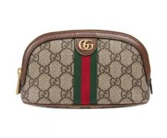 Gucci Trousse à maquillage Ophidia GG taille moyenne
