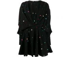 The Attico Robe courte à appliques d'étoiles