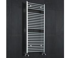 Radiateur Sèche-Serviettes Acier Chromé Moderne 120 x 60cm 678 Watts