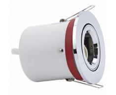 Biard® Spot Encastrable Nu Inclinable IP20 GU10 Ø100 Acier Inoxydable