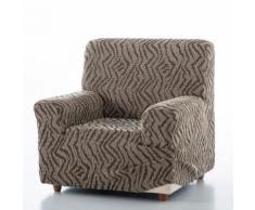Housse extensible jacquard pour fauteuil et canapé