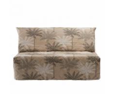 Housse canapé BZ imprimé palmiers