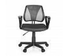 hjh OFFICE KIDDY CD - Chaise pivotante pour des enfants Gris