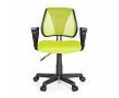 hjh OFFICE KIDDY CD - Chaise pivotante pour des enfants Vert