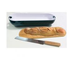 Set planche à découper avec corbeille et couteau à pain de Bergner