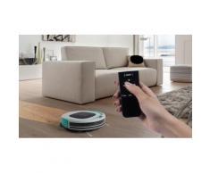 Aspirateur robot et laveur sols durs, tapis et moquette