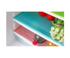 Tapis protection réfrigérateur : Bleu / x 6