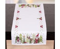 """Chemin de table """"drôle de forêt"""""""