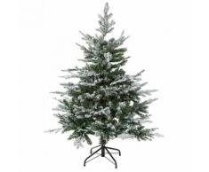 Sapin de Noël enneigé artificiel, 150 cm
