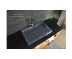 Vasque en Granit véritable à poser 70x50 - CALVI