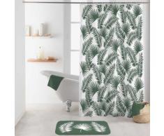 Rideau de douche imprimé feuilles de palmiers