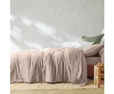 Linge de lit uni lin lavé