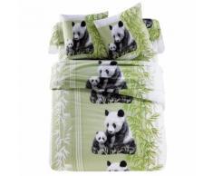 Linge de lit Pandas polycoton