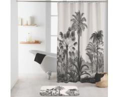 Rideau de douche imprimé cocotiers