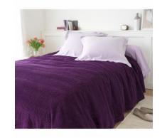 Jeté de lit uni tuft qualité luxe