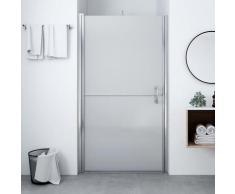 vidaXL Porte de douche Verre trempé dépoli 100x178 cm