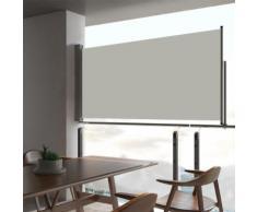 vidaXL Auvent latéral rétractable de patio 80x300 cm Crème