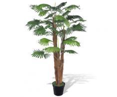 vidaXL Palmier artificiel avec pot 180 cm