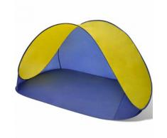 vidaXL Tente de plage pliante hydrofuge Jaune
