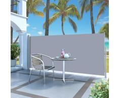vidaXL Auvent latéral rétractable 140 x 300 cm Gris