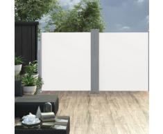 vidaXL Auvent latéral double rétractable de patio 170x600 cm Crème