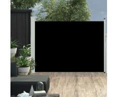 vidaXL Auvent latéral rétractable de patio 100x500 cm Noir