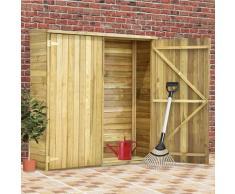 vidaXL Abri à outils de jardin 163x50x171 cm Pinède imprégnée