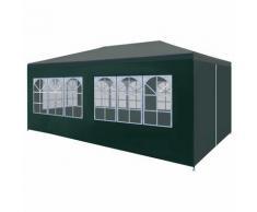 vidaXL Tente de réception 3 x 6 m Vert