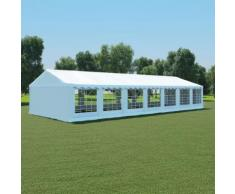 vidaXL Tissu de tente 6x14 m Blanc