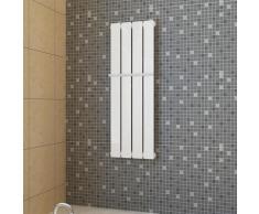 vidaXL Porte-serviette 311mm + Radiateur panneau blanc 311mm x 900mm