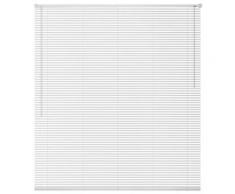 vidaXL Store Aluminium 100 x 160 cm Blanc