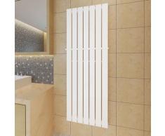 vidaXL Porte-serviette 542mm + Radiateur panneau blanc 542mm x 1500mm