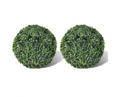 vidaXL Plante artificielle 2 pcs 27 cm