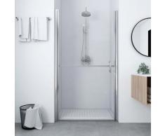 vidaXL Porte de douche Verre trempé 100x178 cm