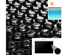 vidaXL Couverture de piscine Noir 260 x 160 cm PE